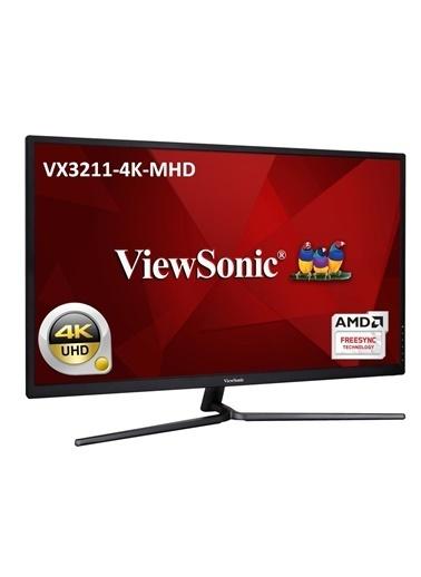 Viewsonic 32 Vx3211-4K-Mhd 4K 3840X2160 2Xhdmı+Dp Hdr10 Eğlence Tasarım Monitörü Renkli